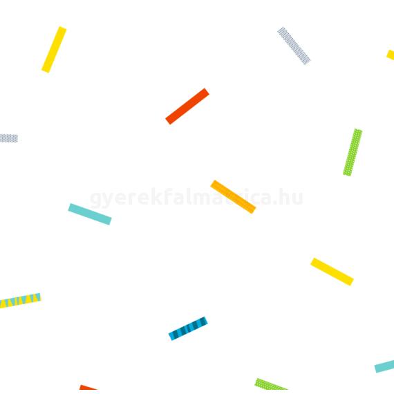 Cirkuszi színek - falmatrica