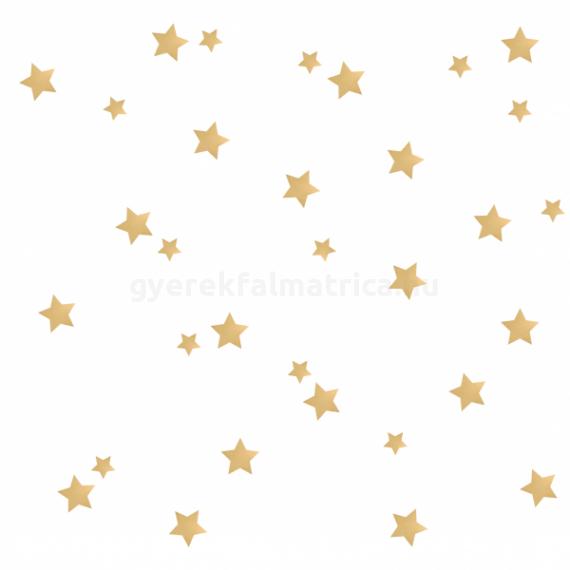 arany csillagos falmatrica