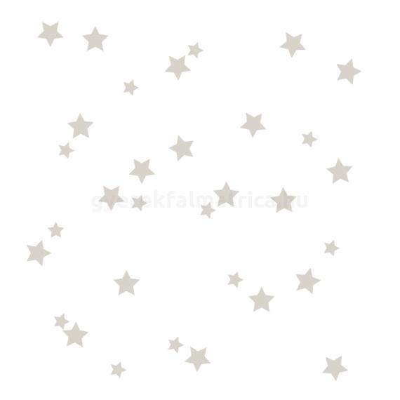 szürke csillagos falmatrica