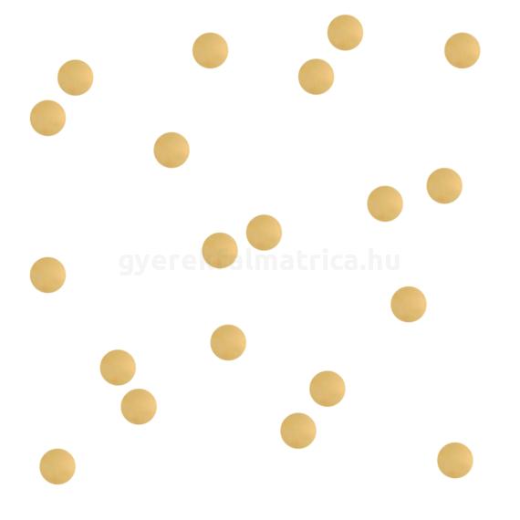 arany pötty falmatrica