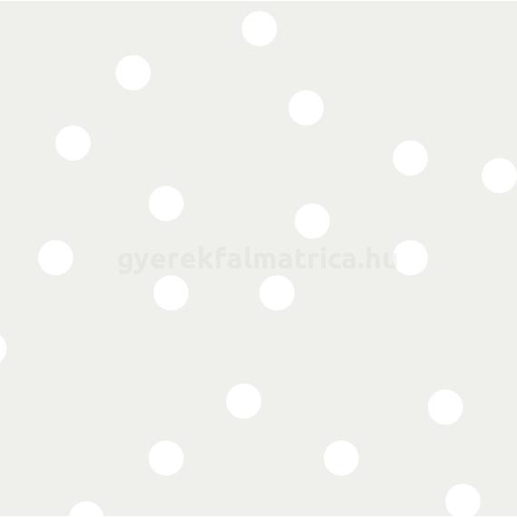 fehér pöttyös falmatrica