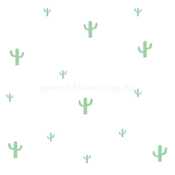 kaktuszos falmatrica