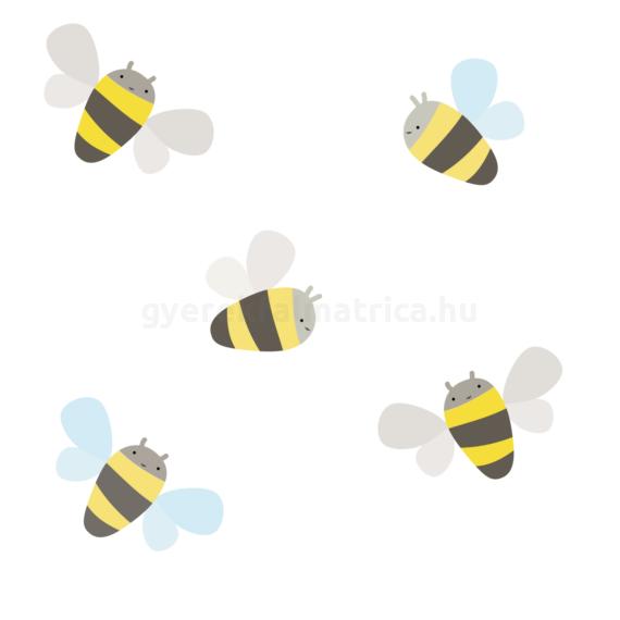 Méhecskék falmatrica
