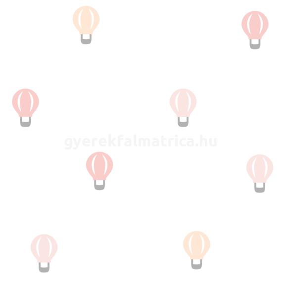 kis hőlégballonok falmatrica