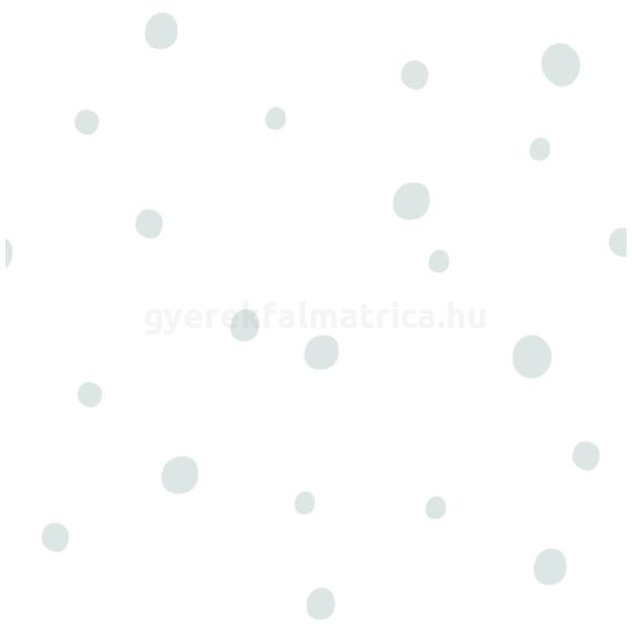 Mini pötty mix falmatrica - szürkéskék