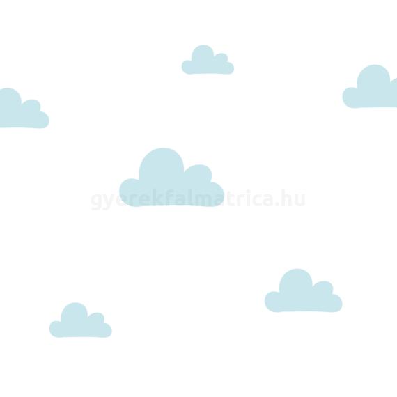 Óriás felhő falmatrica - kék