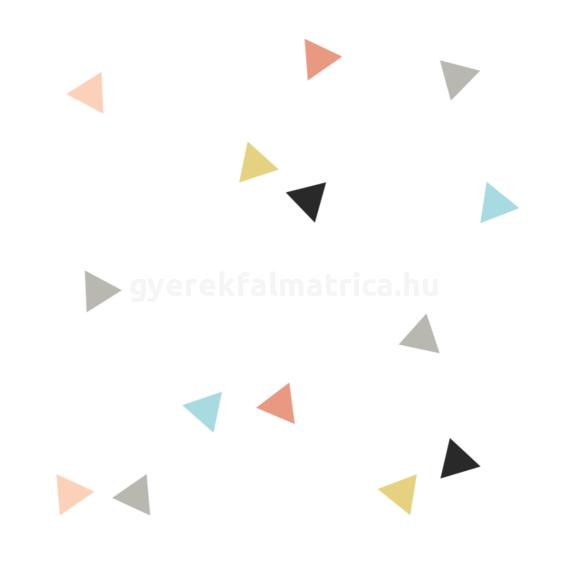 háromszögek falmatrica