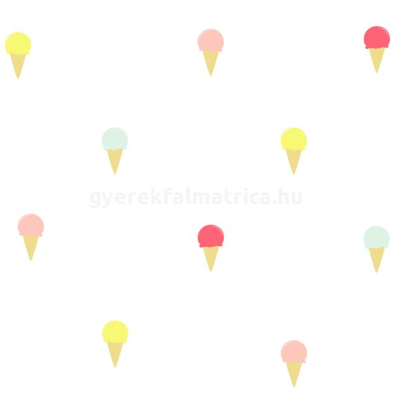 Tölcséres fagyi falmatrica